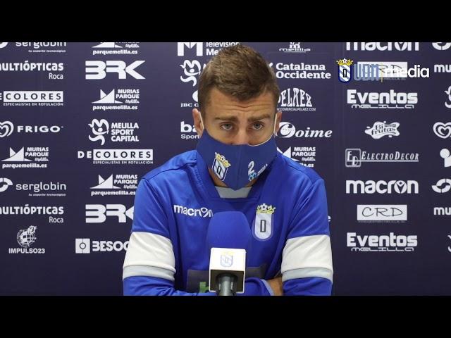 Entrevista | Pepe Romero habla del partido ante Extremadura U.D. y del actual situación del equipo.