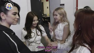 [ENGSUB] BLACKPINK & DUA LIPA all the moments in America |#DuaPink