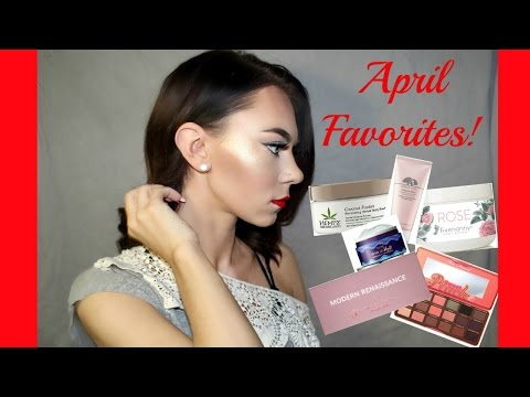 APRIL FAVORITE BEAUTY PRODUCTS