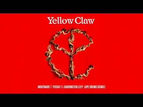 Yellow Claw - Nightmare (feat. Pusha T & Barrington Levy) [Ape Drums Remix]