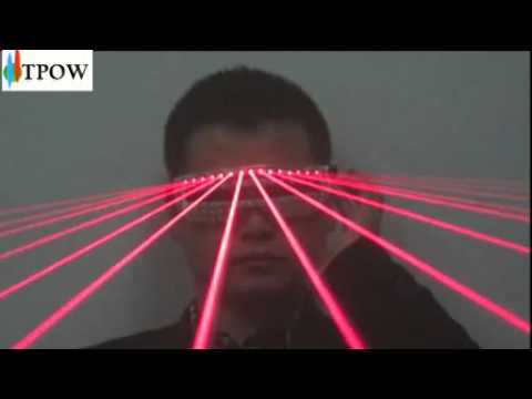 Laser Light Show LED Shutter Glasses Red Stage Party Show DJ Disco Cool Christmas Gift