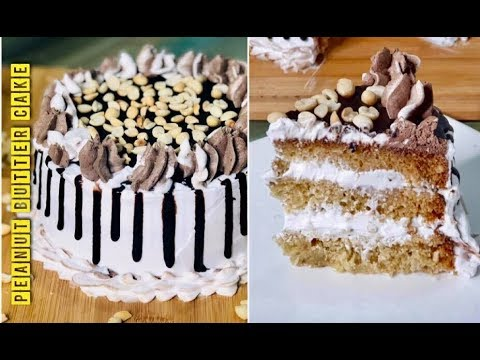 Peanut Butter Cake Without Oven|| Easy Peanut Butter Powder Cake Recipe.