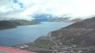 ヤムドク湖 チベット