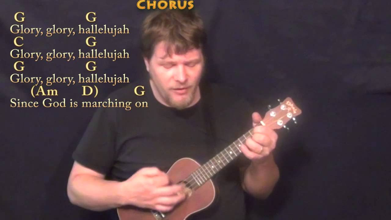 The Battle Hymn Of The Republic Ukulele Cover Lesson In G With