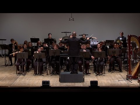 Peabody Wind Ensemble performs Smooke, Holst, and Puckett