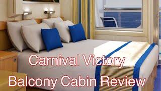 Carnival Victory Balcony Cabin Room 8259