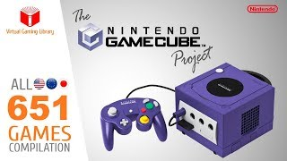 The GameCube Project - All 651 GC Games - Every Game (US/EU/JP)