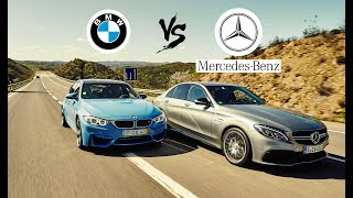 Mercedes E-Class vs. BMW M4 - Forza Horizon 3
