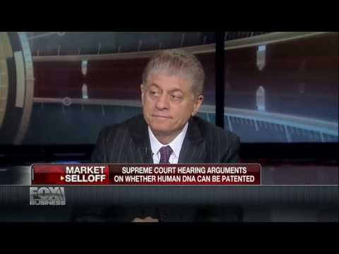 Judge Napolitano: Can Human DNA Be Patented?