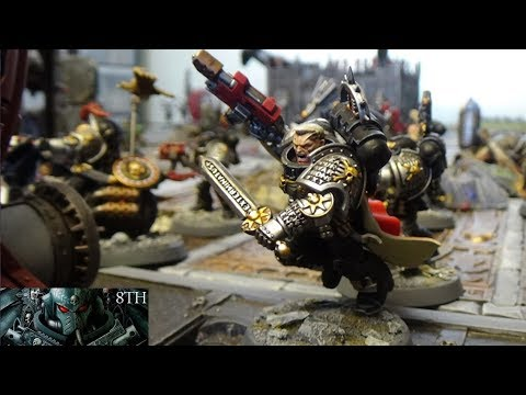 Deathwatch vs Orks 8th Edition 40k 100 Power Points