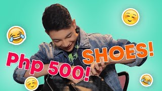 DARREN ESPANTO bag raid! | ANYTHING GOES