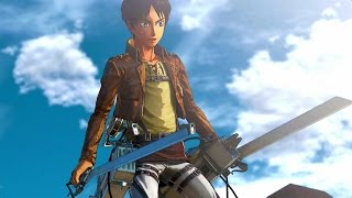 Attack on Titan / Attack on Titan Wings of Freedom 45+ Minutes of EPIC Gameplay (PS4 PC Xbox One)
