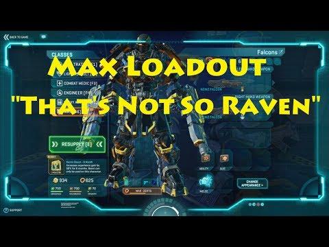 """Planetside 2: Loadout """"That's Not So Raven"""""""