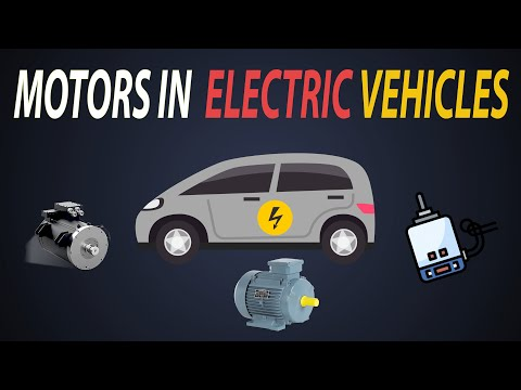 Motors Used In Electric Vehicles   Selection Of Motors For EVs   Types Of Motors