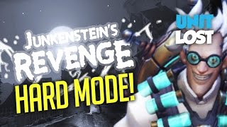 Junkenstein's Revenge [HARD MODE]! Overwatch PvE Horde Mode! Halloween Terror Brawl!
