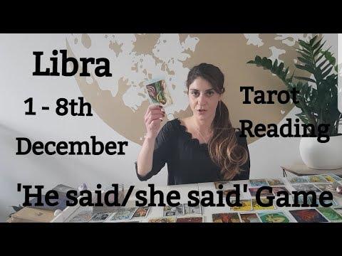 LIBRA - SEEKING FOR A PIECE OF MIND - 1 - 8 December LOVE TAROT READING