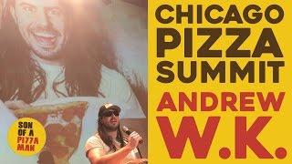 Chicago Pizza Summit // Andrew W.K. Speech
