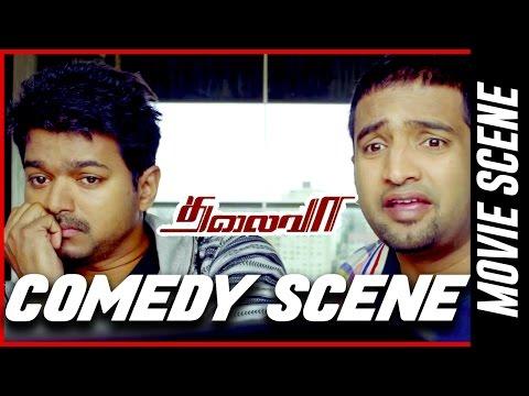 Thalaivaa- Comedy Scene | Ilayathalapathy Vijay | Amala Paul | Sathyaraj
