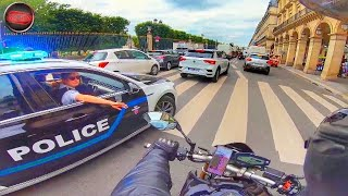 MOTARDS vs POLICE 8