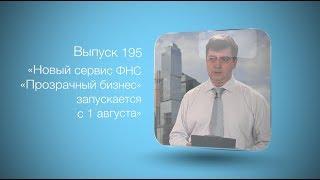 Бухгалтерский вестник ИРСОТ 195. Новый сервис ФНС «Прозрачный бизнес» запускается с 1 августа