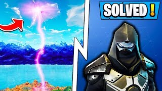 *NEW* Fortnite Enforcer Police Force! | Solved Road Trip Story! ( Season 5 Skin )