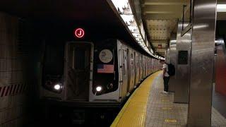 MTA: R160/R143 J/Z/Not in service action at Sutphin Blvd-JFK