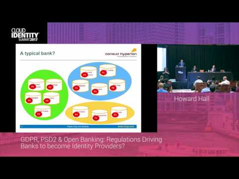 6/20 | GDPR, PSD2 & Open Banking: Regulations Driving Banks to Become IdPs? | CIS 2017