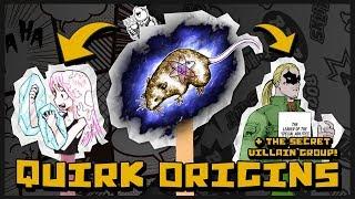 The Origin of All Quirks & My Hero Academia's Secret Villain Organization - My Hero Academia Theory