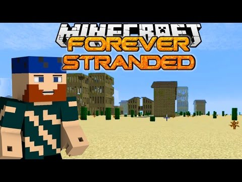 Minecraft | Forever Stranded | #3 INTO THE LOST CITY