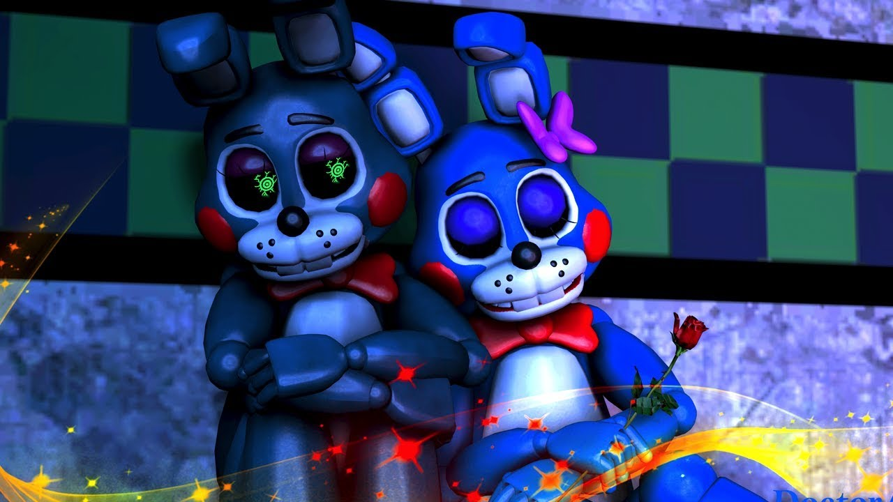 Five Nights At Freddy's Bonnie Animated bonnie's sister- sfm fnaf five nights at freddy's animation compilation