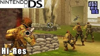 Brothers in Arms DS -  Nintendo DS Gameplay High Resolution (DeSmuME)