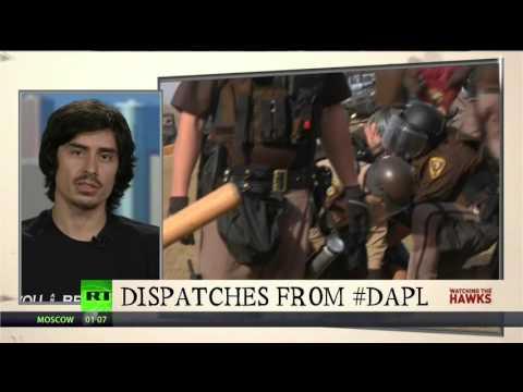 Violent Escalation at the #DAPL Protests w/ Derrick Broze