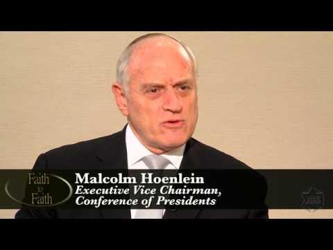 Faith To Faith: Malcolm Hoenlein