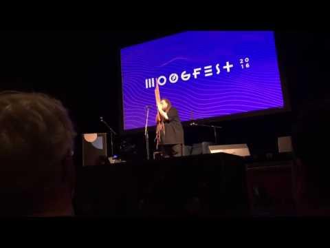 Jaron Lanier plays the Khene - Moogfest 2016