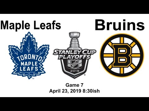 Toronto Maple Leafs Vs Boston Bruins Game 7 Live Reaction + Chat