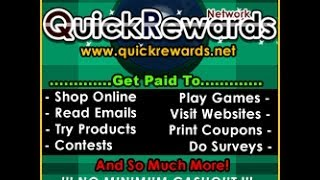 Quickrewards Tips How to do Paid Surveys!!