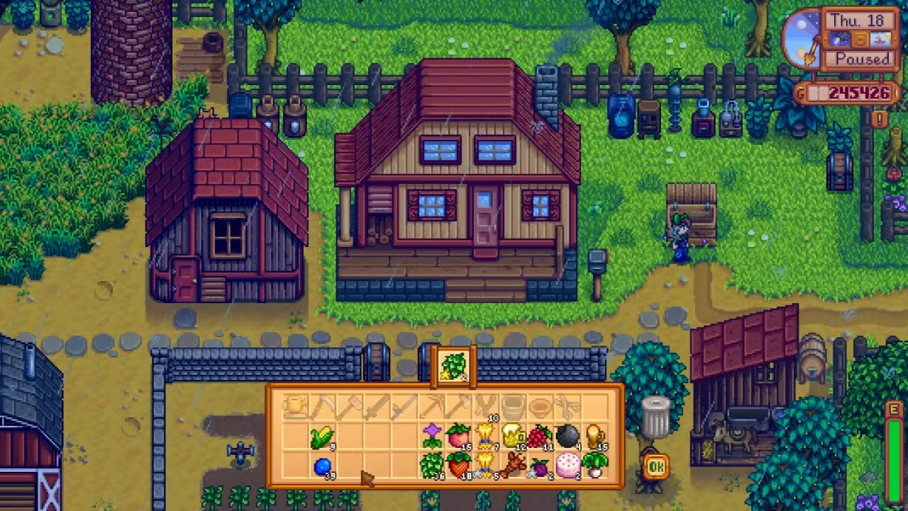 Stardew Valley- Largest house Upgrade - YouTube