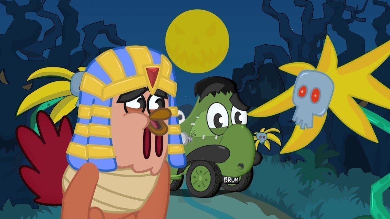 Funny Animated Cartoon   Spooky Trip   Cartoons for Kids   Cartoons for children   Cartoon Movie