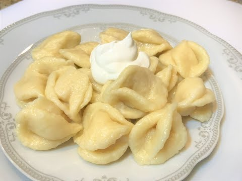 ЛЕНИВЫЕ ВАРЕНИКИ с Творогом Из Детства.   Pierogi With Cottage Cheese.
