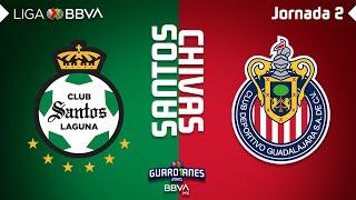 Resumen   Santos Laguna 2   0 Guadalajara   Liga Mx   Guardianes 2020   Jornada 2   Liga Bbva Mx