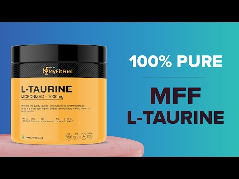 MFF Taurine | Body Building Protein | Body Taurine Booster