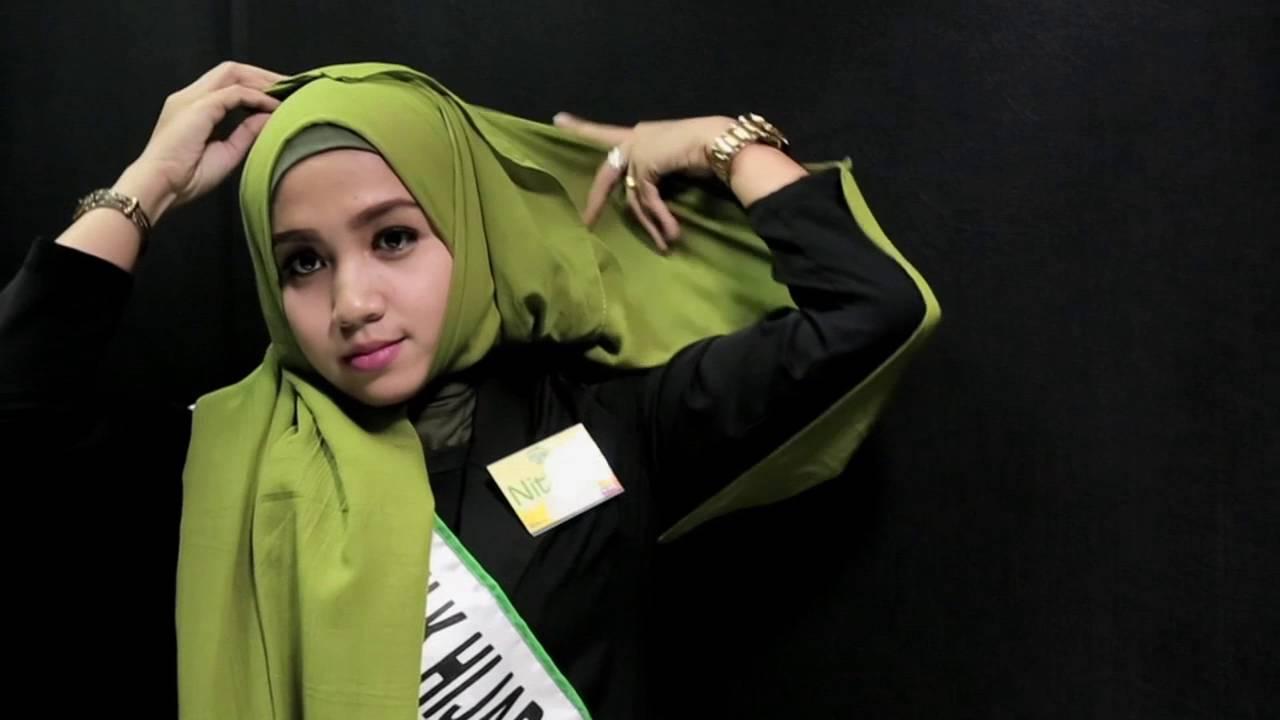 Tutorial Hijab By Nittrina Elda Finalis Sunsilk Hijab Hunt 2016