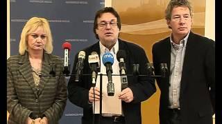 Pálffy István és Gulyás Dénes sajtótájékoztatója 2011.02.25.