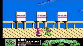 Teenage Mutant Ninja Turtles 3 Walkthrough Part 1