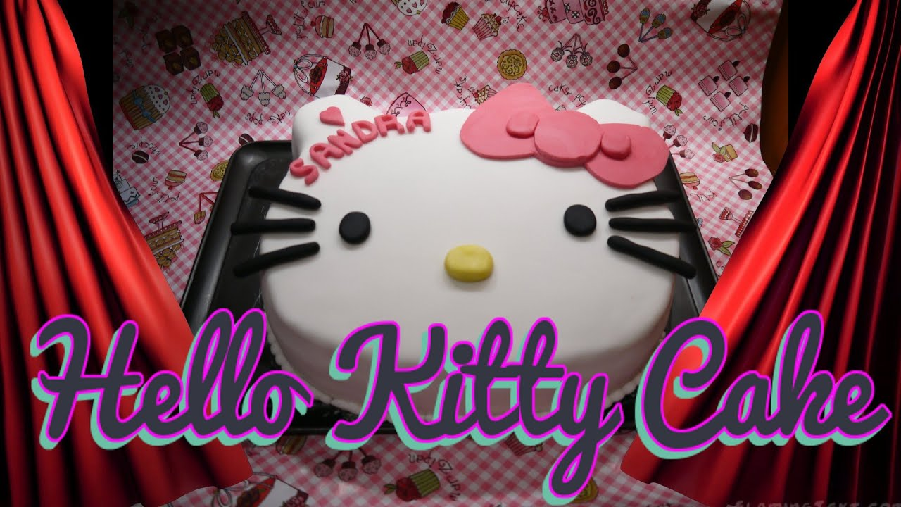 hello kitty torte torten dekorieren mit fondant kuchen. Black Bedroom Furniture Sets. Home Design Ideas