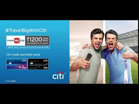 Citi Bank MMT Tuesday Domestic Offer
