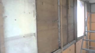видео проект утепления балкона