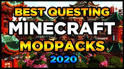 Best Questing Minecraft Modpacks 2020! (Top 5 Questing Minecraft Modpacks)