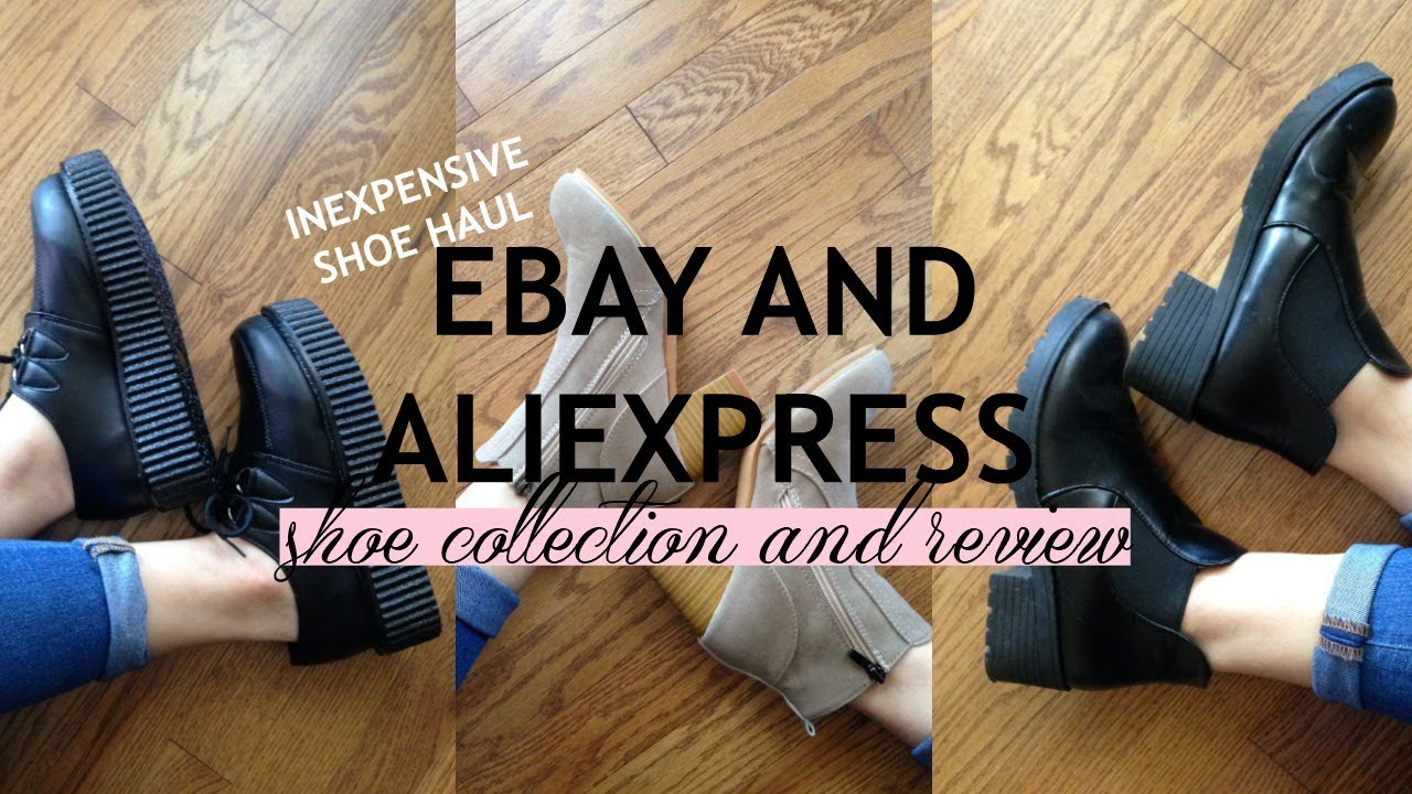 Aliexpress/Ebay Shoe Haul & Review | Inexpensive Shoe Haul