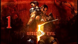 "Resident Evil 5   En Español   Capítulo 1 ""Punto de control civil"""
